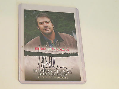 Jeffrey Dean Morgan -John Winchester Supernatural & Neegan The Walking Dead Auto