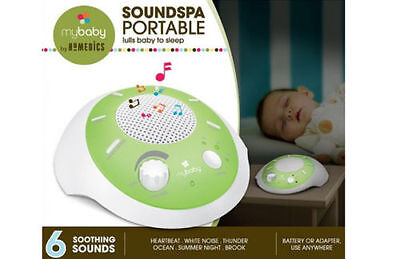 NEW Baby Sound Toy Soothing Heartbeat Portable Cot Musical Soothe Sleep Toddler