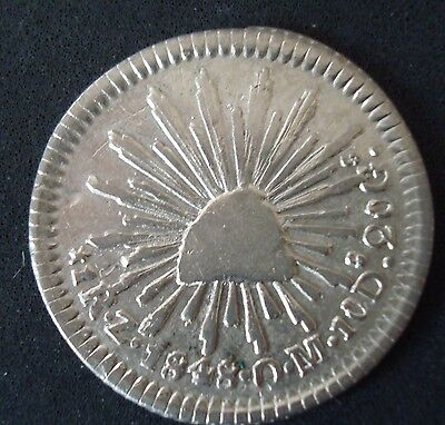 Mexico 1 Real silver 0.m 1848