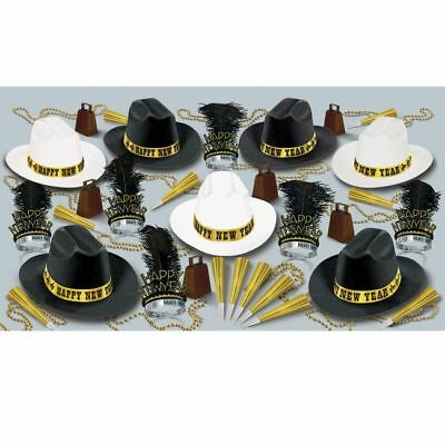 New Years Eve Party Kit for 50 Western Nights 19435