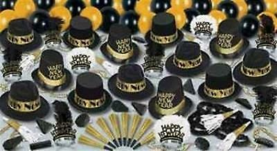 New Years Eve Party Hat Kit for 50 Grand Deluxe Gold