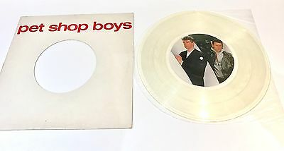 "Pet Shop boys Opportunities 12"" Clear vinyl New Zealand Limited"