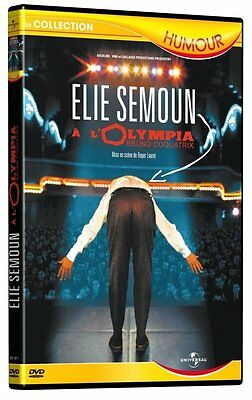 DVD neuf _ELIE SEMOUN A l'Olympia_ SPECTACLE Olympia 2002