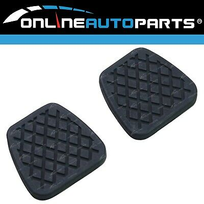 2 Pedal Pad Cover Rubbers for Nissan Patrol GU Y61 Clutch / Brake Manual