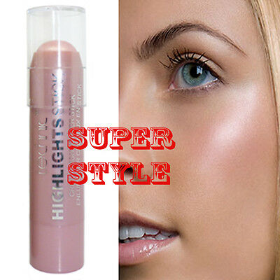 TECHNIC Pink Blush High Lights Stick Shimmer Pearl Highlighter Contour Definer