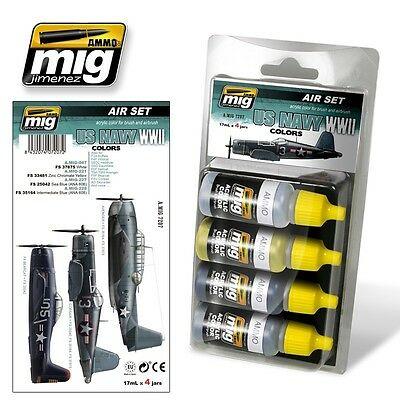 Ammo Of Mig Smart Set Wwii U.s.navy Colors Cod.amig7207
