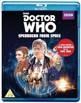 Doctor Who: Spearhead from Space - Blu-ray Region A Free Shipping!