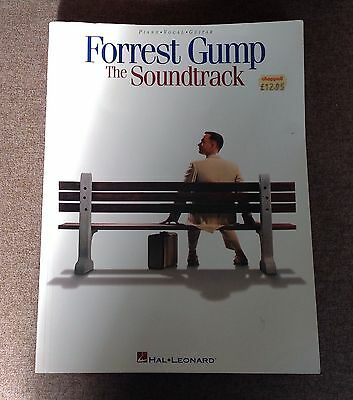 Forrest Gump The Soundtrack Learn to Play Piano Vocal & Guitar Music Book