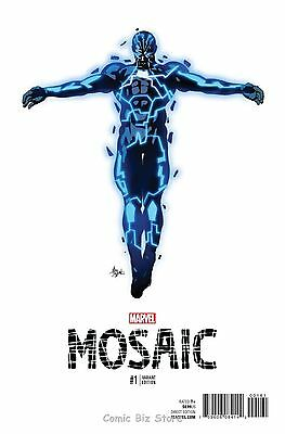 Mosaic #1 (2016) 1St Print Scarce Deodato 1:10 Teaser Variant Cover Marvel Now