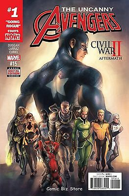 Uncanny Avengers #15 (2016) 1St Printing Bagged & Boarded Marvel Now