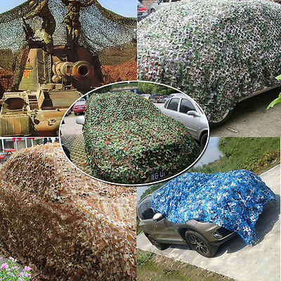 Military Army Camouflage Woodland Camo Cover Hunting Camping Shooting Hide Net