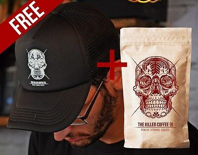 Adore Coffee Killer Coffee + FREE Killer Hat The Killer Coffee Co.