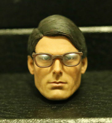 Custom made ! clark kent Christopher Reeve Superman 1978 1/6 HEAD ONLY 2