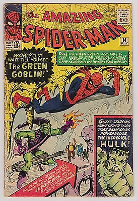 Silver age Amazing Spider-man 14 in VG or better no problems