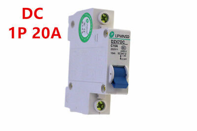 DC 1P 20A  250V Solar energy Air breakerair switch protector for household