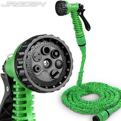 7,5 m Flexibler Gartenschlauch Wasserschlauch Schlauch Flexi Hose Magic Wonder