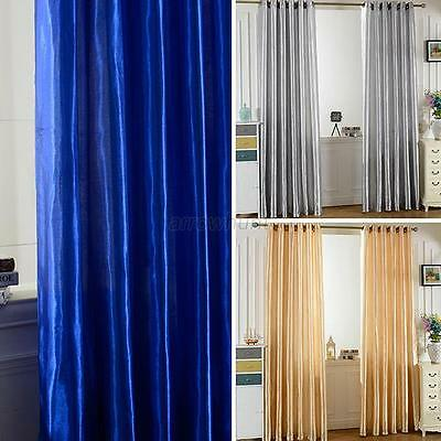 Nice Window Screen Curtains Room Door Blackout Lining Curtain Drapes Home Decor