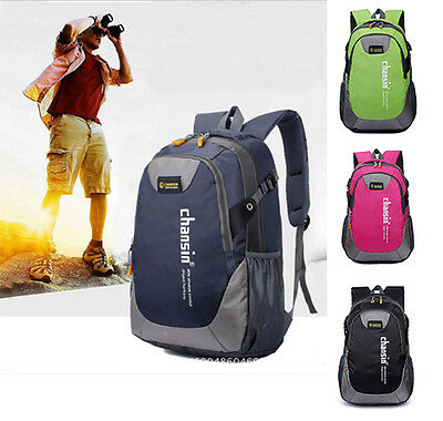 Unisex Waterproof Travel Backpack Hiking Camping Outdoor Rucksack Shoulder Bag