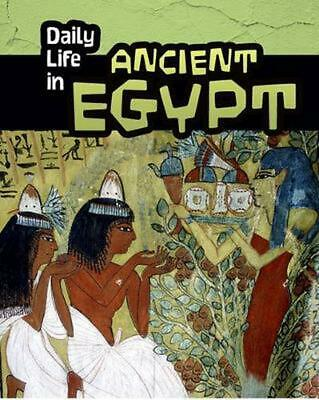 Daily Life in Ancient Egypt by Don Nardo (English) Paperback Book Free Shipping!