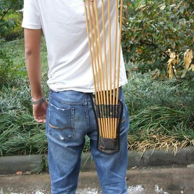Ultralight Outdoors Hunting Archery Bow Arrow Holder Belt Quiver Tubes Strap