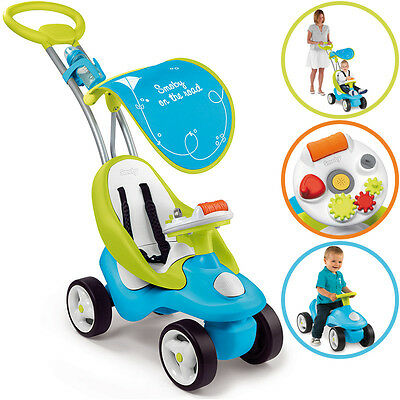 Smoby Rutscherauto Bubble Go 2in1 (Blau)
