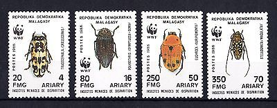 Malagasay Insect Set of 4 SG716/719 Mint MH X3907