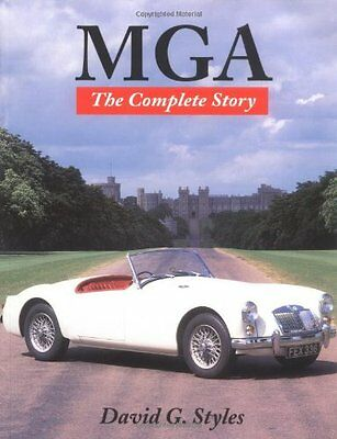 MGA: The Complete Story (New edition),PB,David G. Styles - NEW