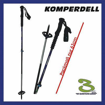 Komperdell Carbon Pro Ascent Powerlock 3.0 Tourenstock -> Neu (1 Paar)  1842336