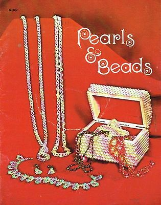 1970's Pearls and Beads Jewelry making instructions