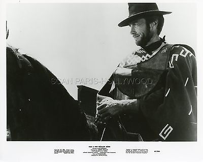 Clint Eastwood Sergio Leone For A Few Dollars More 1965 Vintage Photo R70 #1