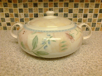 Boots Country Cottage Bluebell Fruit & Daffodil Design Casserole Dish Oven-Table