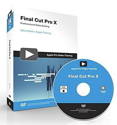 Final Cut Pro X, w. DVD-ROM Steve Martin