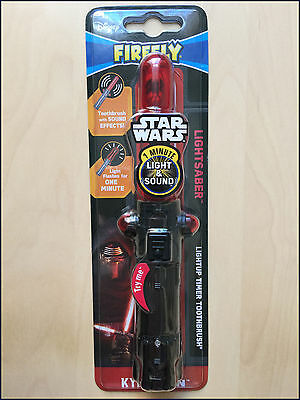 STAR WARS KYLO REN TOOTHBRUSH - With sound effects and 1 minute timer