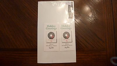 Holiday Greetings 32 Cent Complete Booklet