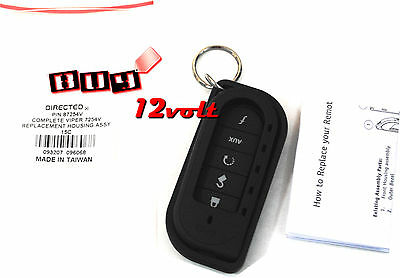 Viper 87254V Black Complete Replacement Housing Assembly w/ Key Ring for 7254V