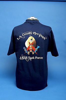 Los Angeles County Fire Department USAR Task Force Yosemite Sam Shirt