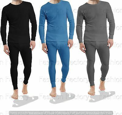 Mens Extra Warm Winter Thermal Long Sleeve Shirt Long Jhons Trouser Baselayer