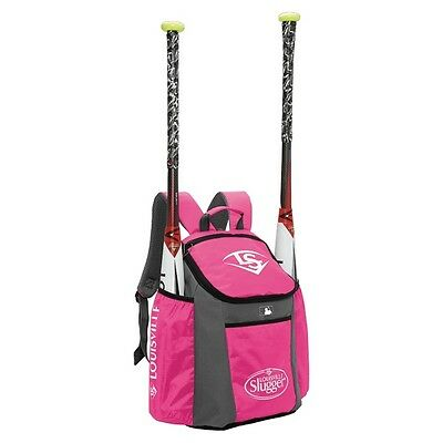 Louisville Slugger EB Series 3 Baseball Bat Pack, Hot Pink