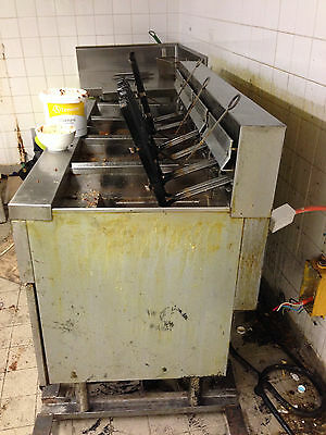 Frymaster large capacity electric deep fryer