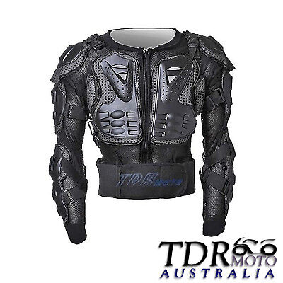 MX Gear Comp Black Motocross Pressure Suit MTB Dirt Bike Adult Body Armour