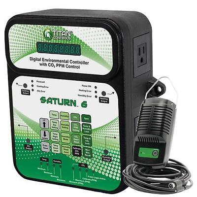 Titan Controls® Saturn 6 - Digital Environmental Controller with CO2 PPM Control