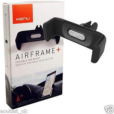 Kenu Airframe+ Portable Air Vent Car Mount iPhone 7/6s/6 Plus  & Smartphones NEW