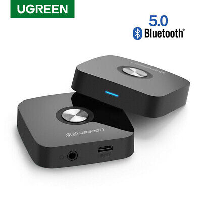 Ugreen Wireless Bluetooth V4.1 Audio Stereo Music Receiver 3.5mm Car Aux Adapter