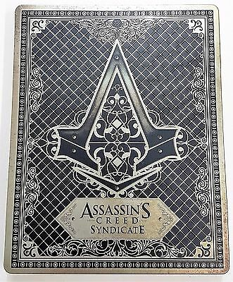 Assassin's Creed Syndicate Steelbook Case - New - NO GAME - Fast Dispatch