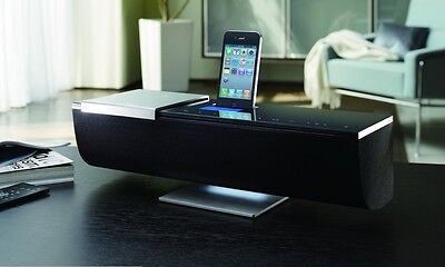 ONKYO iONLY STREAM ABX-N300 WIRELESS MUSIC SYSTEM iPhone iPod DOCK WiFi AIRPLAY