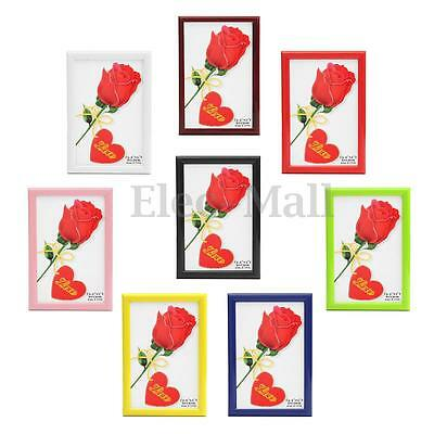 """New 5""""/6""""/7""""/8"""" Multi-size Room Office Decor Wooden Picture Photo Wall Frame"""