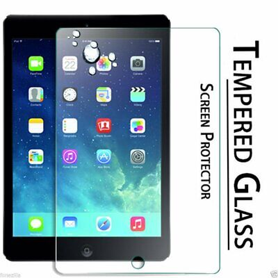 100% Genuine Tempered Glass Screen Protector Fit For Apple iPad2 iPad3 4th Gen