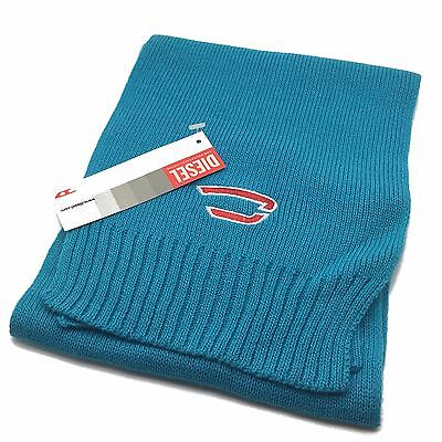 Diesel Boys Scarf Knitted Winter Scarves Kids Rolyb Blue Age 3-6 Years