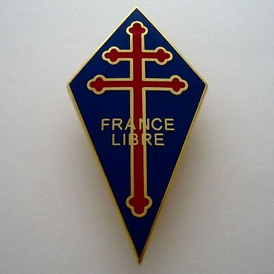 Free French Forces - France Libre Badge - Official Restrike 2014