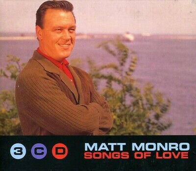 Matt Monro - Songs of Love (3 CD Box Set) [New CD] UK - Import